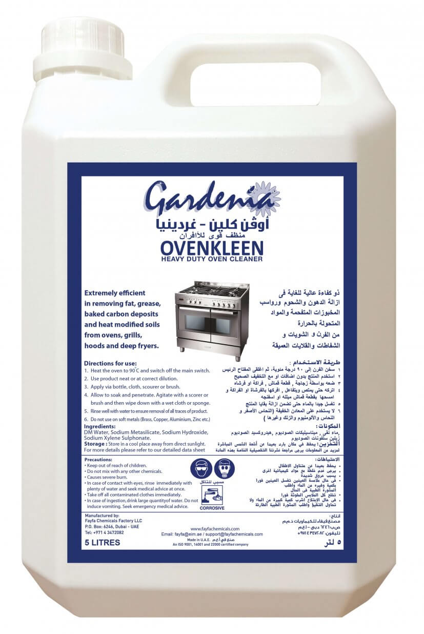 Fayfa Chemicals Oven Clean Caustic Based 97150 8852878